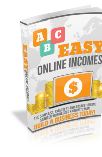 Easy Online Incomes PLR Bundle