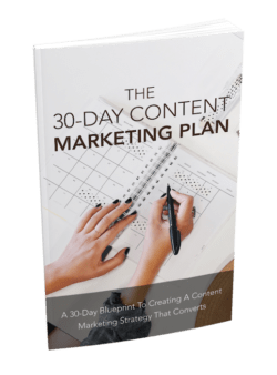 The 30-Day Content Marketing Plan