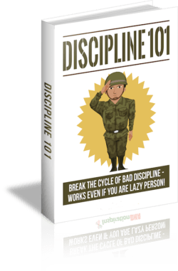 Discipline 101 PLR Bundle