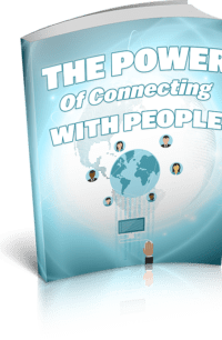 The Power Of Connecting With People PLR Bundle