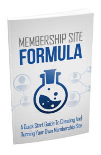 Membership Site Formula PLR Bundle