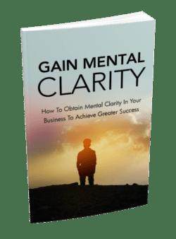 Gain Mental Clarity PLR Bundle