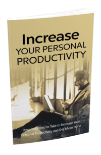 Increase Your Personal Productivity PLR Bundle