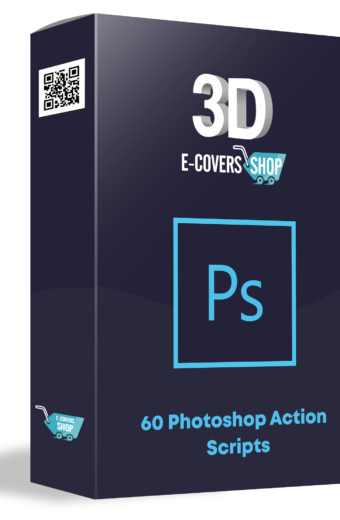 "60 Photoshop ""3D E-Covers"" Action Scripts"