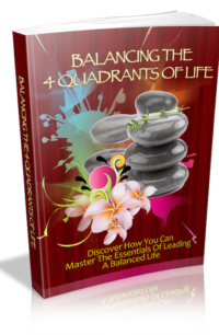 Balancing The 4 Quadrants Of Life PLR Bundle