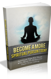 Become A More Spiritual Person Today PLR Bundle