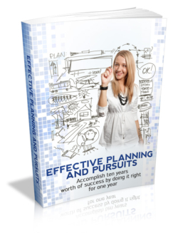 Effective Planning And Pursuits PLR Bundle