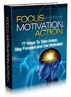 Focus. Motivation. Action. PLR Bundle