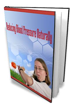 Reducing Blood Pressure Naturally PLR Bundle
