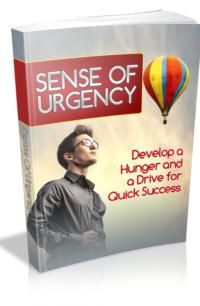 Sense Of Urgency PLR Bundle
