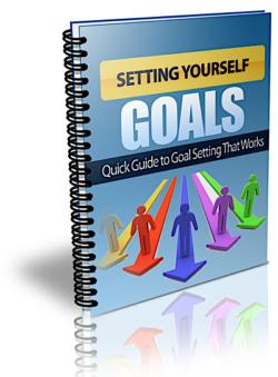 Setting Yourself Goals PLR Bundle