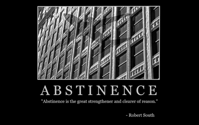 "Free ""Abstinence"" Wallpaper"