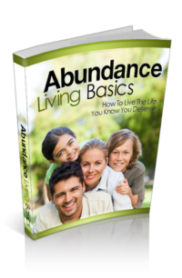 Abundance Living Basics PLR Bundle