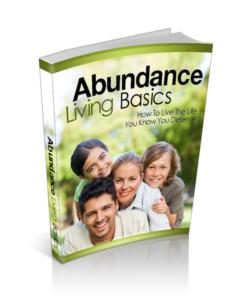 Abundance Living Basics PLR Bundle