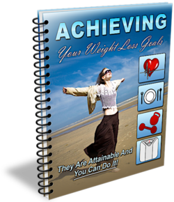 Achieving Your Weight Loss Goals PLR Bundle