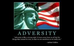 "Free ""Adversity"" Wallpaper"