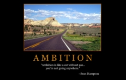 "Free ""Ambition"" Wallpaper"