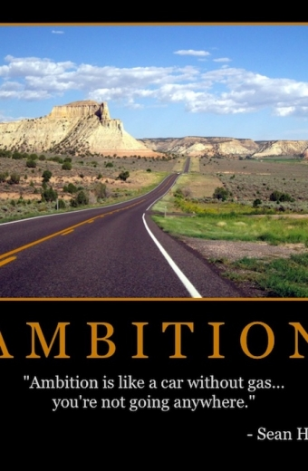 "Free ""Ambition"" Wallpaper"