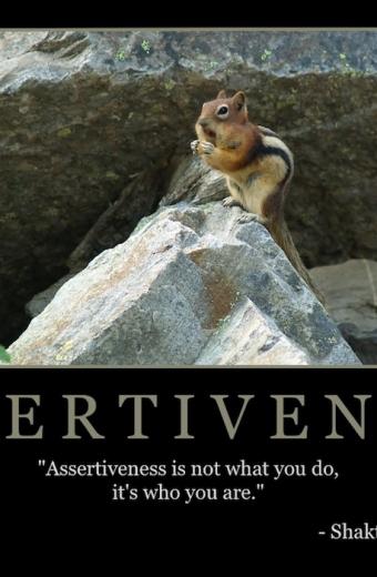 """Free """"Assertiveness"""" Wallpaper"""