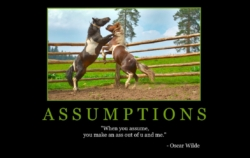 "Free ""Assumptions"" Wallpaper"
