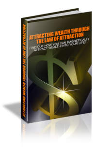 Attracting Wealth Through The Law Of Attraction PLR Bundle