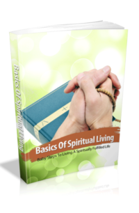 Basics Of Spiritual Living PLR Bundle