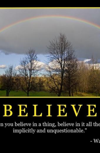"""Free """"Believe"""" Wallpaper"""
