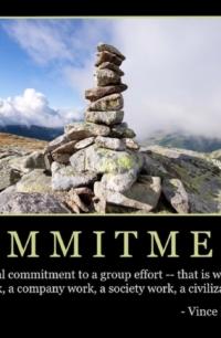 "Free ""Commitment"" Wallpaper"