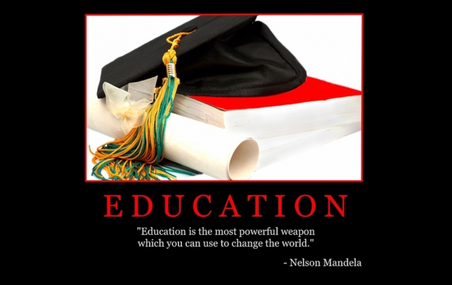 "Free ""Education"" Wallpaper"