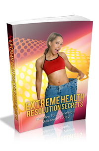 Extreme Health Resolution Secrets PLR Bundle