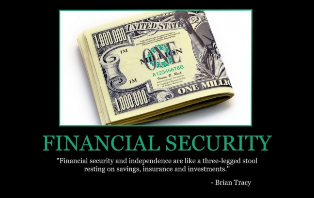 """Free """"Financial Security"""" Wallpaper"""