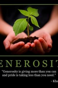"""Free """"Generosity"""" Wallpaper"""