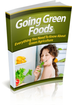 Going Green Foods PLR Bundle