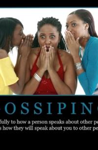 "Free ""Gossiping"" Wallpaper"