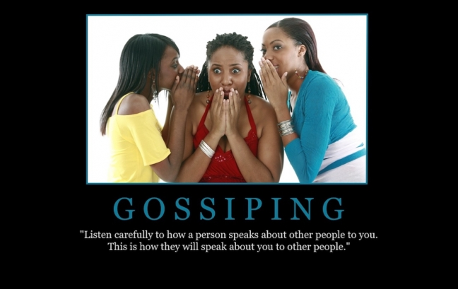 "Free ""Gossiping"" Wallpaper"