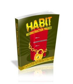 Habit Reconstruction Project PLR Bundle
