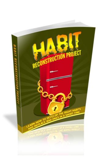 Habit Reconstruction Project