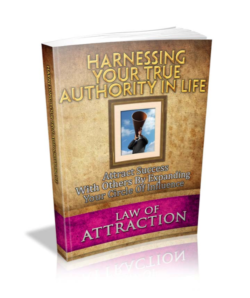 Harnessing Your True Authority In Life PLR Bundle