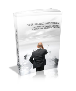 Internalized Motivation PLR Bundle