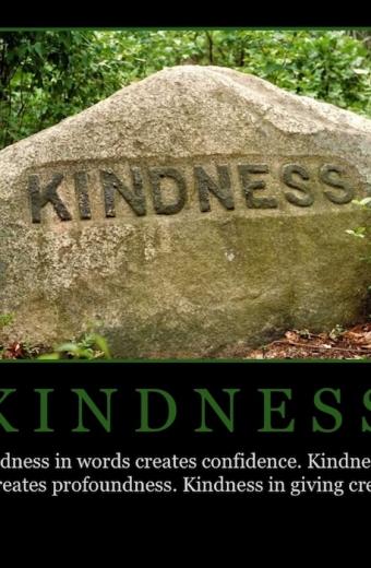 """Free """"Kindness"""" Wallpaper"""