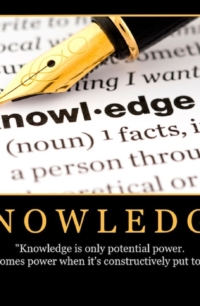 "Free ""Knowledge"" Wallpaper"