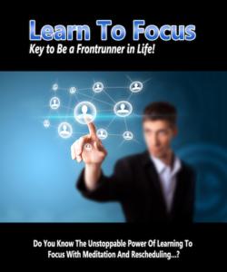 Learn To Focus PLR Bundle