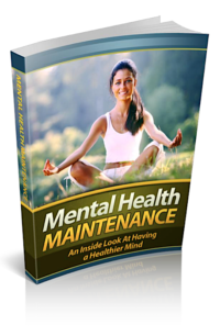 Mental Health Maintenance PLR Bundle