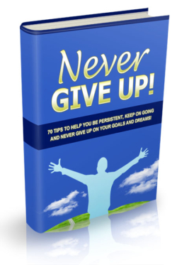Never Give Up PLR Bundle