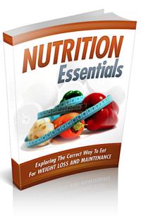 Nutrition Essentials PLR Bundle