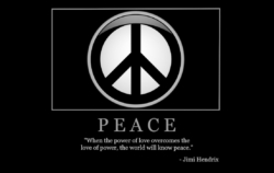 "Free ""Peace"" Wallpaper"