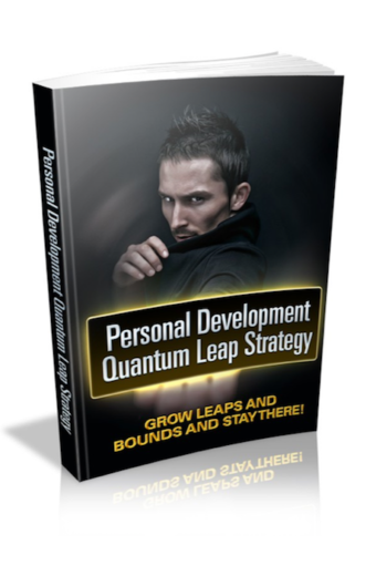 Personal Development Quantum Leap Strategy