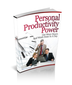 Personal Productivity Power PLR Bundle