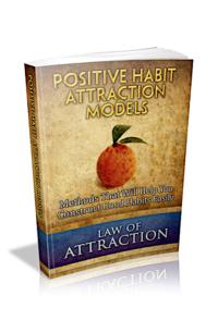 Positive Habit Attraction Models PLR Bundle