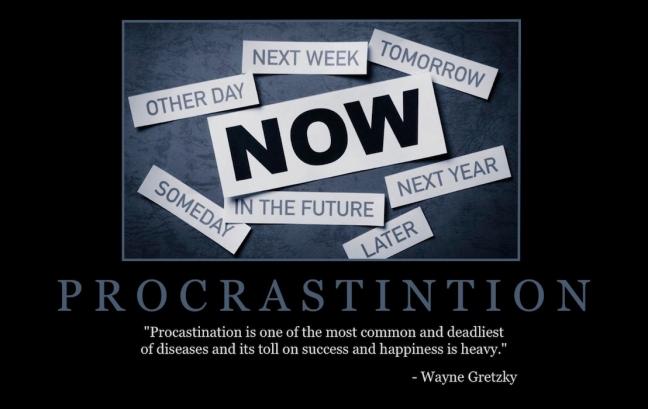 "Free ""Procrastination"" Wallpaper"